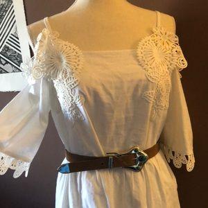 ASOS White Lace Dress